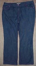 Motto Jeans Size 22W Purple Stitch (measurements 43X32 1/2) New with Tags