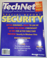 Technet Magazine Special Report Security May/June 2006 121214R2