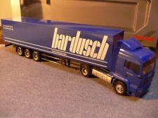 1/87 Herpa MAN TGA Koffer-Sattelzug Bardusch E