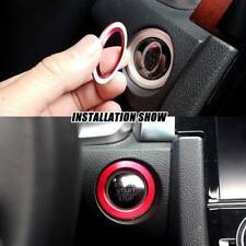 Aluminum Ignition Ring Cover For 2016-2018 Honda Civic Sedan Coupe Hatchback