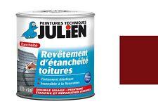 PEINTURE ETANCHE REPARATION FISSURE REVETEMENT ETANCHEITE TOITURE rouge basque
