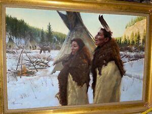 Redwing T. Nez Art Painting