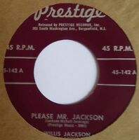 WILLIS JACKSON ~ PLEASE MR. 45 on PRESTIGE VG+ RVG hear it!