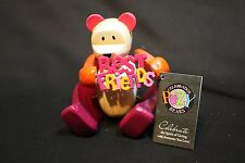 Posy Celebration Bears Wooden Best Friends Figurine - BFF - Valentines Day Gift