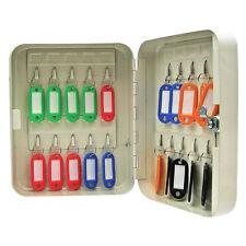 Sécurité fermant à clé clef en métal Boîte de rangement / armoire sécurité 20 étiquettes clés matérielles mural