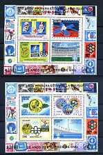 Briefmarken Uruguay 1976 ** postfrisch Block 31 und 32 Jahresereignisse BR201