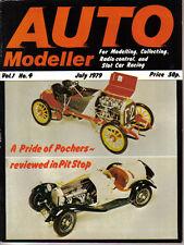 Auto Modeller Vol 1 No 4 July 1979 Lancia Stratos Bugatti Porsche 804 Motorcycle