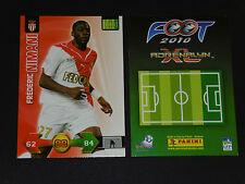 FREDERIC NIMANI AS MONACO LOUIS II PANINI FOOTBALL ADRENALYN CARD 2009-2010