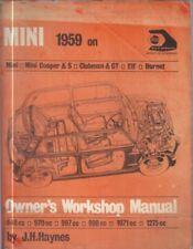MINI MK1 & MK2 INCL COOPER 970 997 1071 1275 ELF HORNET 1959-71 WORKSHOP MANUAL