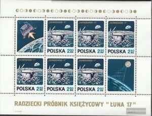 Polonia Bloque 47 (edición completa) nuevo 1971 lunochod-1