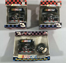 Lot(3) NASCAR Trevco Dale Earnhardt Sr. Christmas Ornament (New In Box)2002