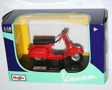 Maisto - VESPA GTR (1968) Red - Model Scale 1:18