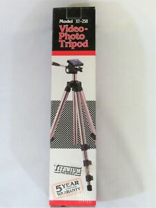Vidpro Titanium Pro Series Video-Photo Lightweight Compact Tripod Model XT-250