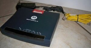 Motorola DSL Modem 4-Port Wireless Router Gateway; Model: GZ53347