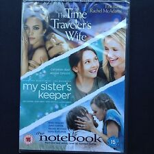 NEW! 3DVD boxset Time Traveler's Wife | My Sister's Keeper | Notebook McAdams R2