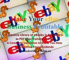 EBAY - 8 Business Training Courses  in Set - Hundreds of Books & Articles on USB