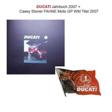 Ducati Year Book Book Yearbook 2007 CASEY STONER MOTO GP - Rare + Flag