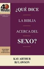 Que Dice La Biblia Acerca del Sexo? / What Does the Bible Say about Sex? (40