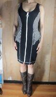 Womens Rampage Zipper Ruffle Dress size M