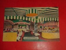 ZS374 Vintage Linen Iceland Theatre Restaurant New York City NY Interior View