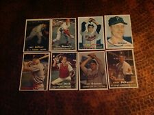 ( 25 ). 1957 Topps Baseball Cards, ex- cond, all Series 1 & 2, no dupes
