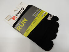 Injinji Run Original Weight Mini Crew Black Size M
