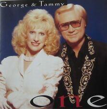 GEORGE JONES & TAMMY WYNETTE - ONE  -  CD