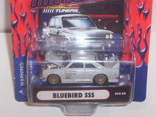 MUSCLE MACHINES TUNERS DATSUN BLUEBIRD SSS 1/64 DIECAST COLLECTIBLE