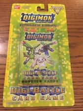 Digimon Digi-Battle Blister Pack Gold Edition Series 5 Sealed