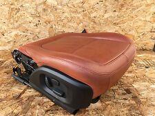 JAGUAR XF 09-11 FRONT RIGHT PASSENGER SEAT MOTOR TRACK LEATHER OEM RED CINNAMON