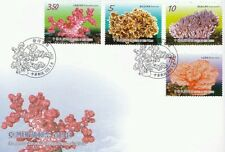 Corals Of Taiwan 2014 Reef Underwater Life Sea Marine Animal Fish (stamp FDC)