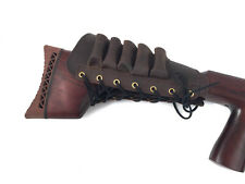 Leather Shotgun Cartridge Stock Butt Holster 12 bore by John Shooter®