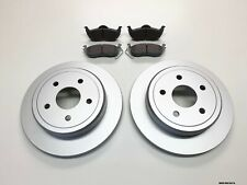 2 x Rear Brake Discs & Pads for Jeep Grand Cherokee WK 2005-2010 BRK/WK/007A