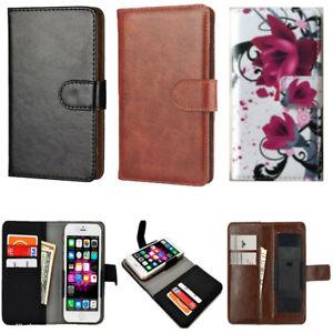 Slim Premium Clip-on Mobile Phone Case for  Nuu Mobile A1 plus  - PU Leather M
