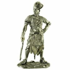 Egypt. Pharaoh Ramses II Tin toy soldier 54mm miniature figurine metal sculpture