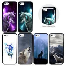 Estuche/Cubierta Protectora para iPhone 5 SE 6 6s 7 XS 11 PRO 8 PLUS X MAX Xr/Lobos