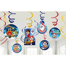 Yo-Kai Watch Hanging Swirl Decoration BOYS BIRTHDAY Party Supply Latest Dangler