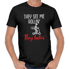 They See Me Rollin They Hatin E-Scooter Escooter Funny Fun Comedy Fun T-Shirt