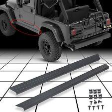 Side Body Armor Rocker Panel Kit for Jeep TJ Wrangler 1997-2006