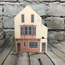 The Cats' Meow Series X Cape May Fudge Kitchen Wooden Building 1992