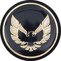 OER K7803 1976-81 Pontiac Firebird Shift Button Emblem-Black With Gold