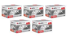 Pellicola 35mm Rullino BN bianco e nero Agfa Pan APX 100 135-36 5pz.