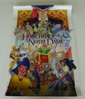 HUNCHBACK OF NOTRE DAME 1996 ORIG. 18x27 MOVIE POSTER! DISNEY ANIMATED CLASSIC!