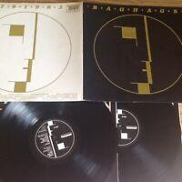 BAUHAUS 1979 1983 Gatefold Double Vinyl LP Beggars Banquet original BEGA 64 EX