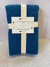 Lucky Brand Vintage Wash Overdid Stone 100% Cotton Pillow Sham - Euro - 26X26