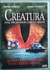 CREATURA DAL PROFONDO DEGLI ABISSI - DVD n.00554/00555