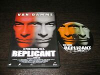Replicant DVD Jean Claude Val Damme Michael Rooker Catherine Dent