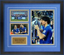 Leicester City Shinji di Okazaki a mano firmato incorniciato foto 1.