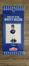 Whitey Herzog - KC Royals Hall of Fame Bobblehead. SGA 8/14/21