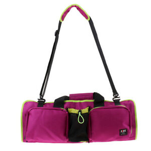 Foldable Yoga Pilates Mat Carrying Tote Bag for Fitness Exercise Gym Sports